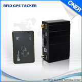 Sistema de seguimento de RFID com relatório do excitador para a gerência da frota