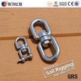 中国の目及び目が付いている卸し売りステンレス鋼の旋回装置