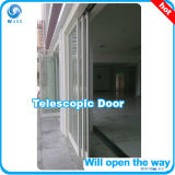 Chinesische beste teleskopische Schiebetür