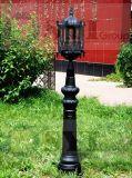 شارع الحديد رمادي مصباح بوست