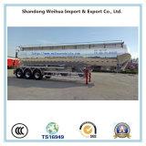 60cbm 알루미늄 합금 부피 시멘트 유조 트럭 트레일러