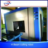 China Kasry L I H U C Trägerpurlin-Licht-Zelle Stahl-CNC-Plasma-Flamme-Ausschnitt-abschrägenfertig werdene Maschine