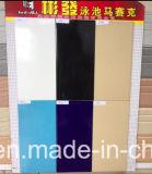 Azulejos antideslizantes del borde de la piscina