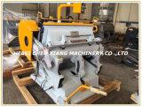 Máquina vincando e cortando do cartão Ml-1500 manual