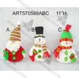 Санта и подарок -2asst. украшения рождества няни собственной личности снеговика
