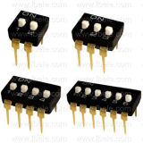 Interruptor Dil del interruptor de SMT (DIL-03)