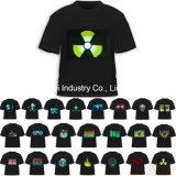 T-shirts de publicité d'EL de DEL