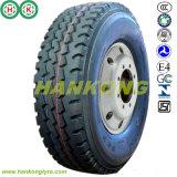 Pneu de camion de Hankong, pneu radial de TBR, pneu de bas de page