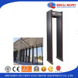 공장 Walk Through Metal Detector, Security Check를 위한 Door Frame Metal Detector에 300A Metal Detector