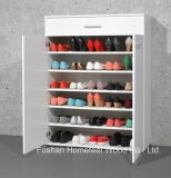 2 Door及びDrawers (SC05)の単にWooden Home Furniture Shoe Cabinet