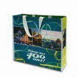 Bolso no tejido del regalo con la laminación (LJ-199)