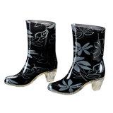 Sapatas populares da chuva das senhoras do salto elevado da forma, senhora Mulher Carregador da forma