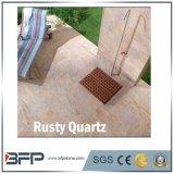 Quartzo oxidado natural da alta qualidade para a bancada da cozinha/telha de assoalho
