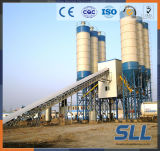 planta de procesamiento por lotes por lotes concreta de la tolva gemela del eje 25m3/H