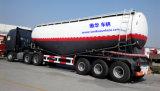 Semi petrolero del acoplado del carro del carro de petrolero a granel del cemento