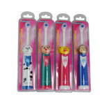 Sonic rotativo Electric Toothbrush Kid Toothbrush con Cartoon Batteria-alimentato Design Ce/RoHS/EMC Approved