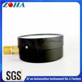 Hochdruckanzeigeinstrument-allgemeiner Gebrauch 40MPa Soem-Vorwahlknopf nach Maß mit aufgerolltem Bourdon-Gefäß