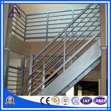 Aluminiumzaun für Treppen-Handlauf mit Qualität