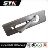 Zink-Legierung Druckguss-Tür-Hebelgriff auf Platte (ISO, SGS)