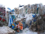 Plastic Film die De Lijn van het Flessenspoelen recycleren Machine/Pet