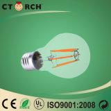 Luz de bulbo de cristal del filamento de la lámpara 8W del bulbo de la serie de Ctorch LED A60