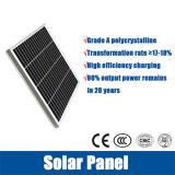 Réverbère en aluminium de Pôle 6m 60W DEL solaire avec la batterie au lithium