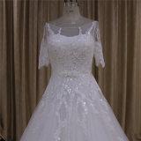 Короткие платья венчания длиной тренируют