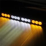 120W Lichte Staaf van de Rij Combo van Amber+White de Enige
