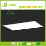 luz de painel ultra fina quadrada do diodo emissor de luz de 40W 110lm/W 600*600mm com certificação de RoHS TUV do Ce