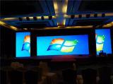 Visualización de pantalla de interior del alto brillo P2.5 LED
