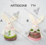 Decorazione Gift-2asst della casa del coniglietto di pasqua