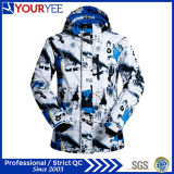 Custom Windbreaker Impermeável Respirável Thermal Men's Ski Jackets Factory (YSJ113)