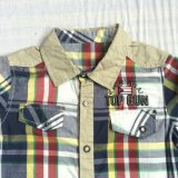Het populaire Overhemd van de Jongen in Kinderen kleedt sq-6239