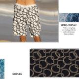 Tela de la impresión de Digitaces con el modelo asombroso para el Beachwear, ropa de sport del anillo
