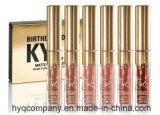 Do batom líquido Matte de Lipgloss das cores da edição 6 do aniversário de Kylie batom Matte 6PCS/Set ajustado