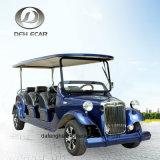 8 het Seaters Aangepaste Elektrische voertuig van de Kar van het Sightseeing van de Auto