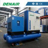 25kw integró/compresor de aire combinado del tornillo con el aire refrescado