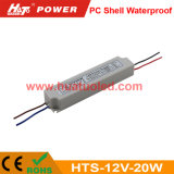 12V1.67A 플라스틱 LED 전력 공급 또는 램프 또는 유연한 지구 방수 IP67