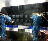 10k limpian la línea de pintura ULTRAVIOLETA automática de aerosol de la capa de la clase