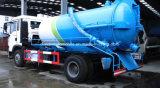 Camion de réservoir neuf d'aspiration d'eaux d'égout du modèle 12m3 de Sinotruk HOWO
