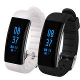 24 Slimme Armband In real time van de Monitor van het Tarief van het Hart van uren de Ononderbroken