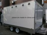 Acoplado móvil de encargo del carro del alimento de Yieson