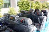 12 Seater elektrische klassische Weinlese-Karren-Golf-Fahrzeug-Personenkraftwagen