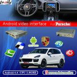 Interface de vídeo de navegação do Android para 2010-2015 Porsche Cayenne