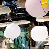 СИД рекламируя сферы раздувной стойки шариков PVC земные вися воздушные шары