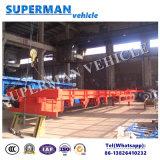 48FT de trois essieux de bâti remorque squelettique de camion semi à vendre/conteneur