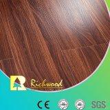 Пол края дуба текстуры Woodgrain навощенный винилом деревянный деревянный Laminate прокатанный