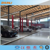 Подъемы автомобиля столба ручного отпуска 2 фабрики Sales5.0t Shunli