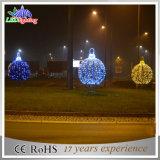 옥외 크리스마스 휴일 LED 거리 공 지도 주제 훈장 빛