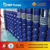 A bomba submergível ISO9001 da perfuração de Qj certificou